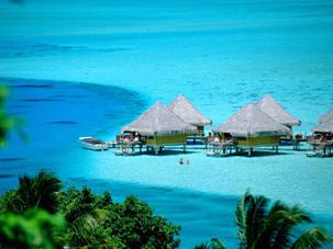 Desktop Wallpapers > Gallery > Travel   Bora-Bora Island, Tahiti, French Polynesia